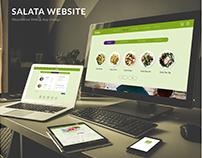 SALATA Web & App Design