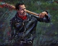 Negan - The Walking Dead - Digital Painting