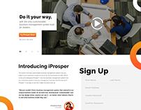 Business Management Website
