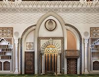 Mosque interior mehrab