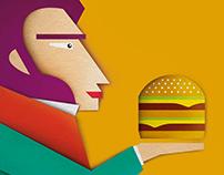 Print advertisement for McDonalds