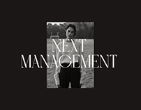 NEXT MANAGEMENT AGENCY   REDESIGN 2020