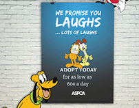 ASPCA outdoor campaign
