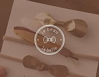 le beau la belle Լogotype Design
