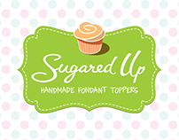 Sugared Up Logo & Packaging