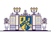 Trinity College - Logo Illustration