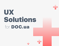 UX Solution for DOC.UA