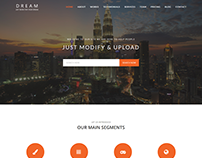 Dream - One page Multipurpose HTML template