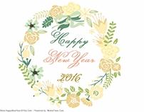 Unsurpassed 2016 New Years Card