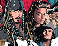 Pirates of the Caribbean - Movie Poster 2016