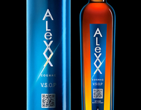 Limited edition cognac  - ALEXX space evolution-