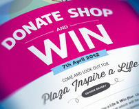 Donate, Shop & Win