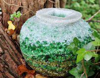 Degradable Glass Urn