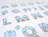Broken Serif  Alphabet