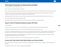 Digital downloads content
