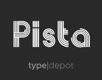 Pista® Font
