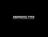Energetic Typo Kinetic Typography Intro