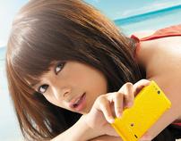 Sony Xperia Go print ad