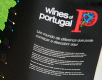 'Wines of Portugal' exhibition stand