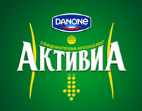Danone Activia - promo site and visualization