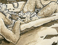 Das Bad in den Lüften