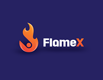 FlameX Logo Development