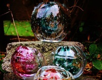 Frozen Bubble Vessel Collection
