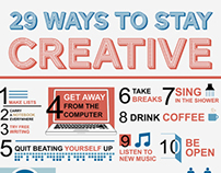 how to stay creative at work
