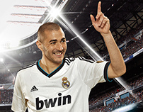 Real Madrid - Fútbol / Web Oficial - Promo 2012 / 2013