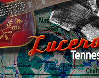 "Redesign of Lucero's ""Tennessee"" album cover."