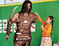"Ubisoft: ""Art Class"" print ad"