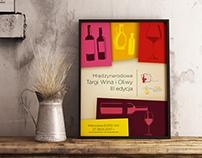 Wine Expo & Warsaw Oil Festival 2017 Poster desing.
