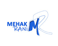 Mehak Rani - MR Logo