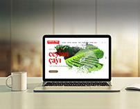 Mevlana Çay Kurumsal Websitesi Tasarımı