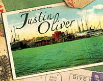 "Justin Oliver ""For Rose"" Album Packaging"