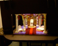 """Sophocle's """"Electra"""" stage design model"""