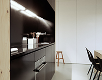Karst House Kitchen Visualization