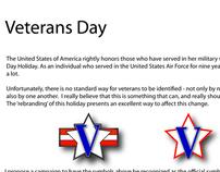 Veteran/Veterans Day Symbol Project