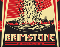 Brimstone T-shirt design