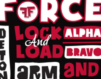 Flight Force T-shirt design