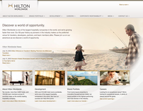 Hilton: corporate website