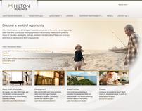 Hilton: corporate website