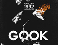 Gook Theatrical Key Art Film Poster Design