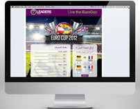 Leaders Center - Euro Cup 2012 Facebook Application