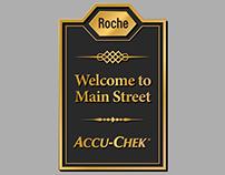 Accu-Chek Main Street Illustrations