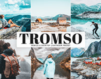 Free Tromso Mobile & Desktop Lightroom Preset