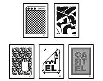5 carteles