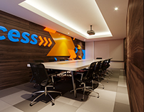 ACCESS BANK @ IRIS - INTERIOR DESIGN/3D VISUALIZATION