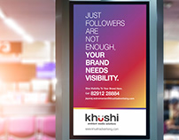 Khushi - Airport Inventory Ads