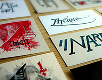 Calligraphy Business Cards
